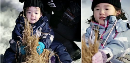 "SoDa Siblings Tackle Snow Sledding Old-School Style On ""The Return Of Superman"""