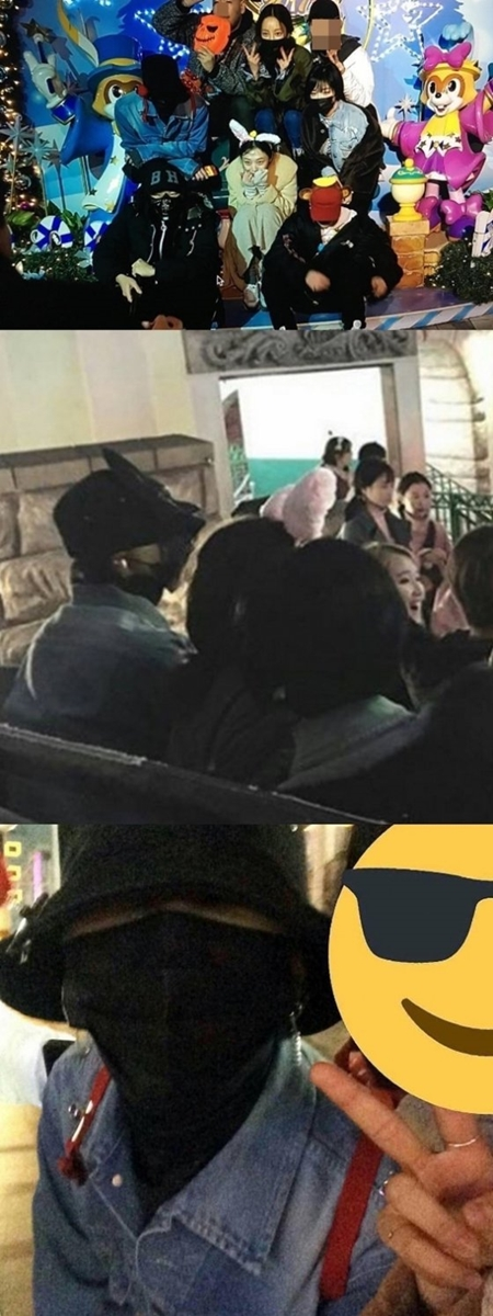 g-dragon goo hara sulli ga in lotte world