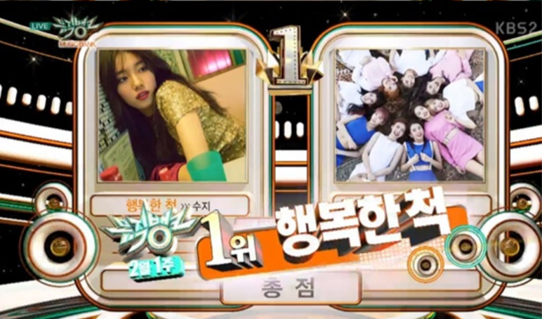 """Suzy Grabs 2nd Win For """"Pretend"""" On """"Music Bank,"""" Performances By Red Velvet, AOA, CLC, And More"""