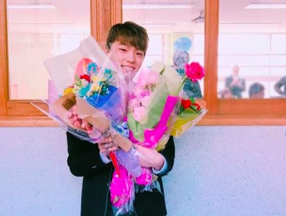 SEVENTEEN Celebrates Dino's High School Graduation