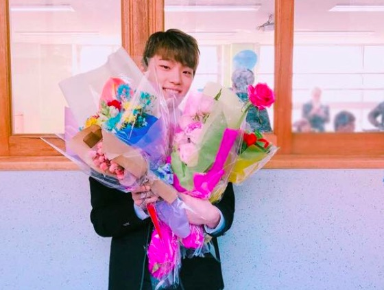 SEVENTEEN Celebrates Dino's High School Graduation
