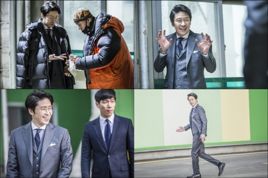 "Behind-The-Scenes Stills From ""Defendant"" Explore Uhm Ki Joon's True Personality"