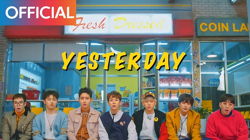 "Watch: Block B Gets Played By The Girl Of Their Dreams In Retro Sitcom-Inspired ""Yesterday"" MV"