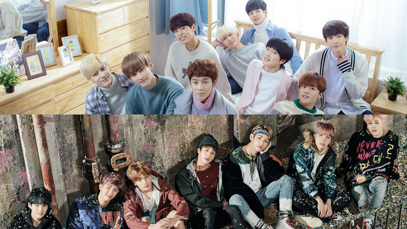 SF9 Names BTS As Their Pick For The Most Anticipated February Comeback