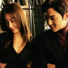 "Kang Sora Strikes A Pose With EXO's Suho For Photos From Set Of ""Curtain"" MV"