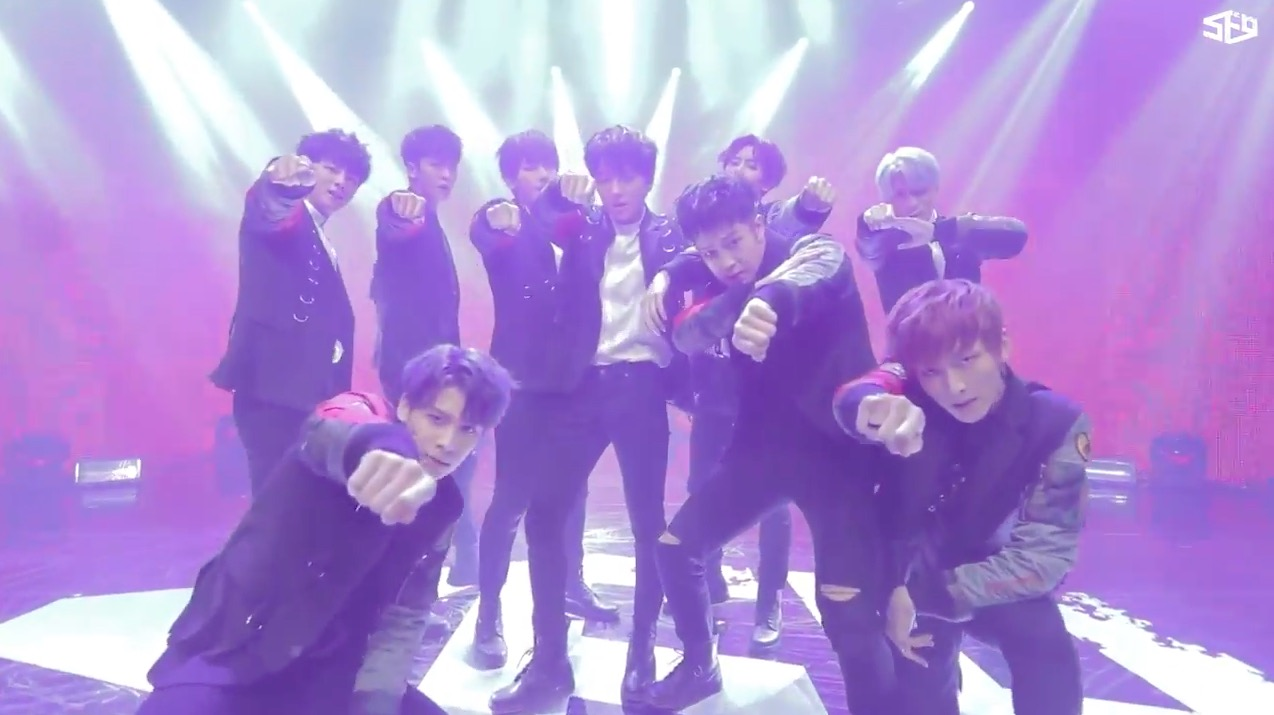 """Watch: SF9 Releases Performance Video For Powerful New Track """"Roar"""""""