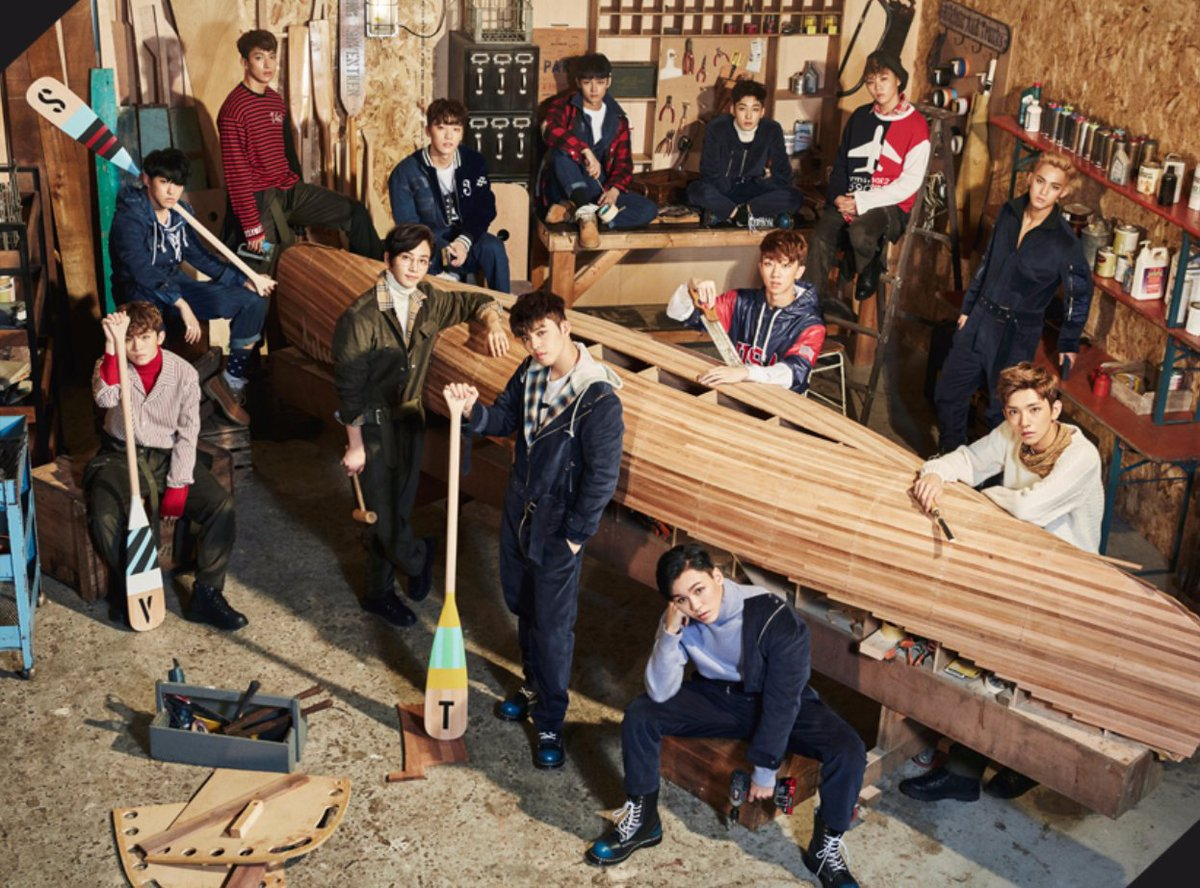 SEVENTEEN Currently In The United States Filming Video Content For Upcoming Comeback