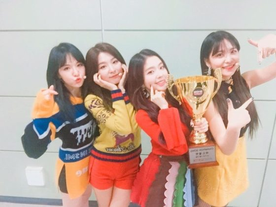 "Watch: Red Velvet Grabs 2nd Win For ""Rookie"" On ""Show Champion,"" Performances By APRIL, CLC, And More"