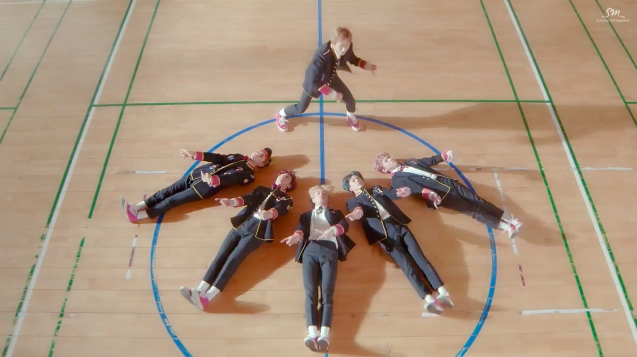 "Watch: NCT Dream Rules The School In ""My First And Last"" MV"