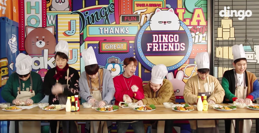 """Watch: Block B Casually """"Cooks"""" And Sings """"Yesterday"""" At The Same Time, Featuring P.O's Sneaky Prank(s)"""