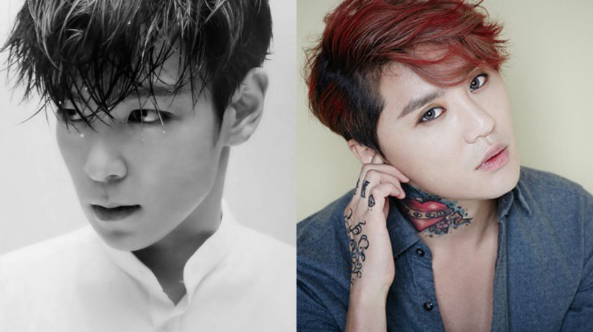 BIGBANG's T.O.P And JYJ's Kim Junsu Officially Enlist In The Army
