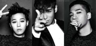 BIGBANG G-Dragon T.O.P Taeyang