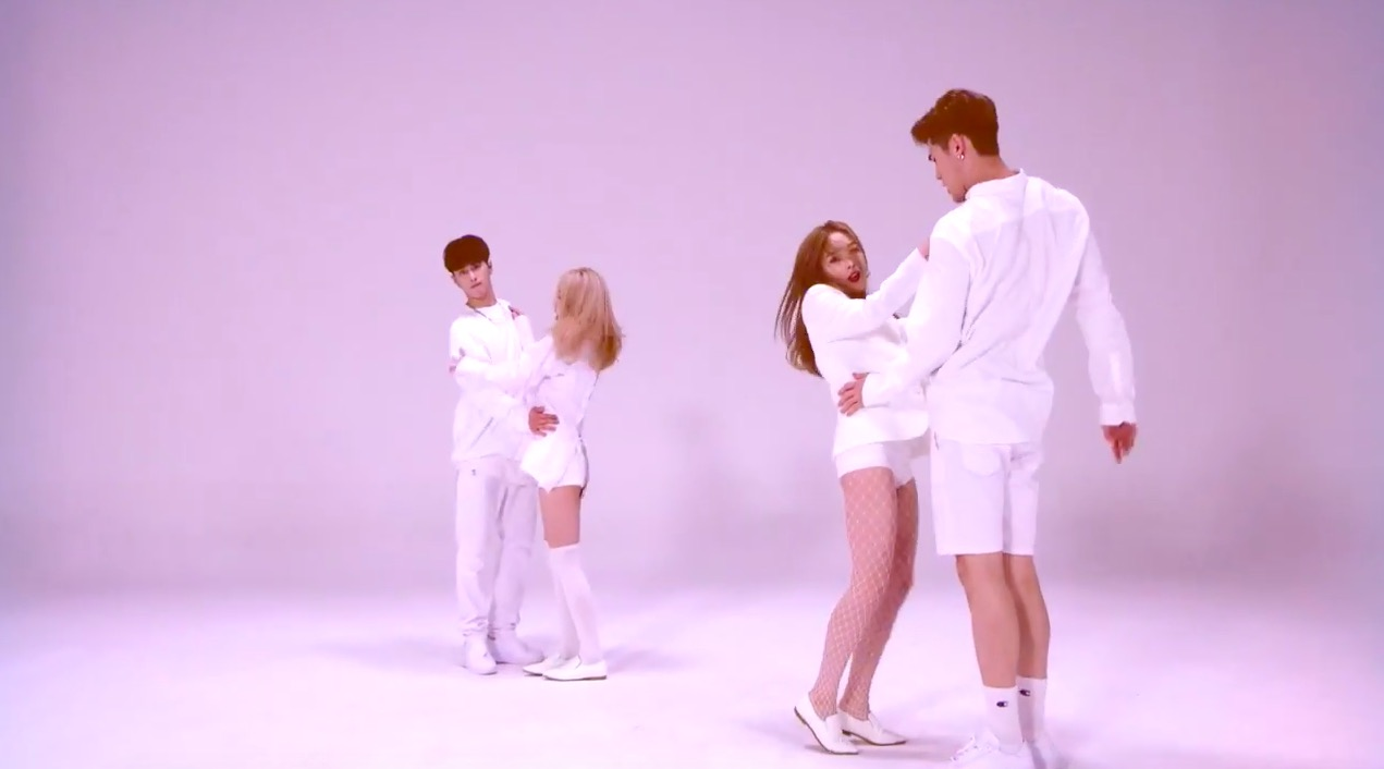 "Watch: K.A.R.D Reveals Glimpse Of Choreography And Quick Listen To Upcoming Track ""Don't Recall"""