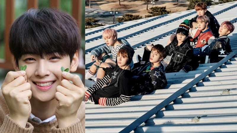 ASTRO's Cha Eun Woo Spotted Being True BTS Fan
