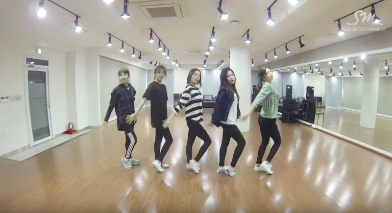 Watch: Red Velvet Reveals Their Very First Dance Practice Video Ever