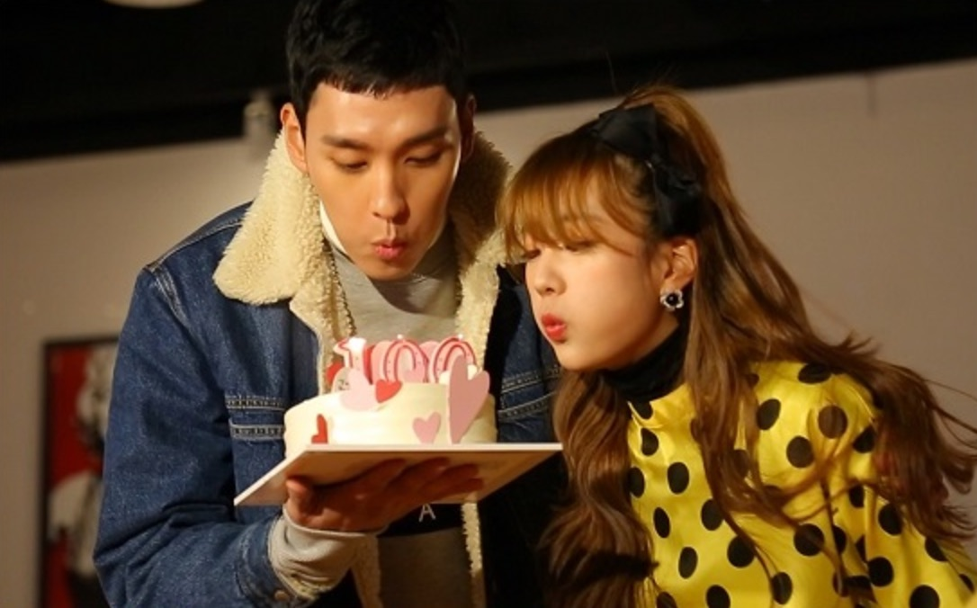 """Choi Tae Joon And Yoon Bomi Celebrate 100-Day Anniversary With Apink On """"We Got Married"""""""