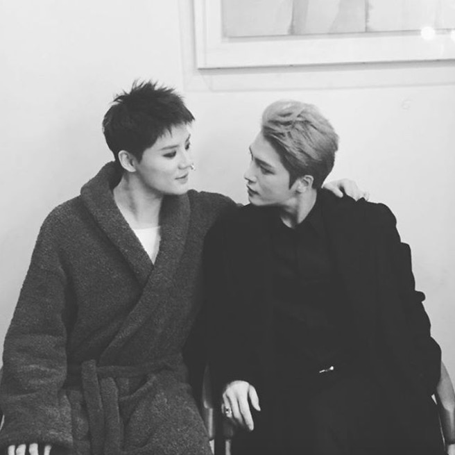 JYJ's Kim Jaejoong Posts Message On Instagram To Kim Junsu After His Enlistment