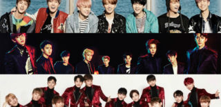 BTS EXO SEVENTEEN