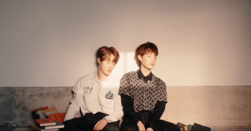 """Watch: Jang Jun And Young Taek Show Off Their Rap Skills In """"Drought"""" MV For """"W Project"""""""
