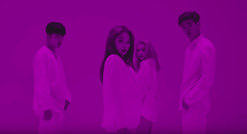 """Watch: Co-Ed Group K.A.R.D Drops Hypnotizing MV Trailer For """"Don't Recall"""""""