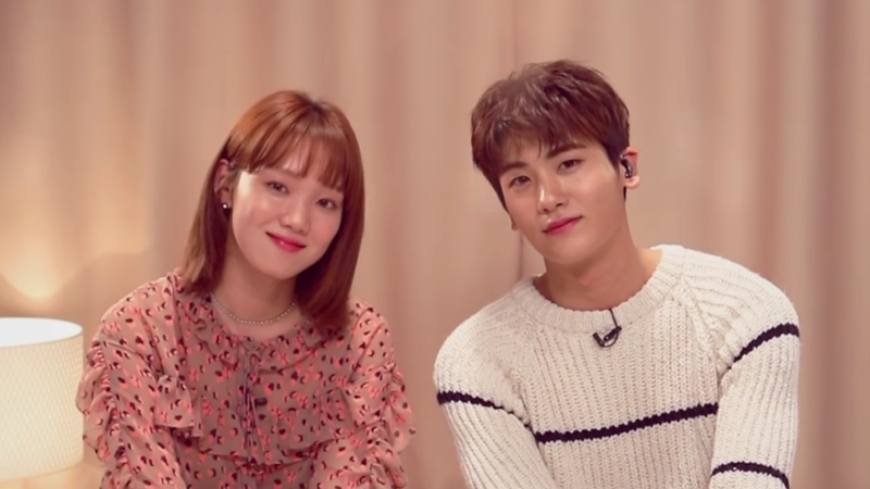 """Watch: Lee Sung Kyung And Park Hyung Sik Sing Their Korean Take On """"True Colors"""" Live"""