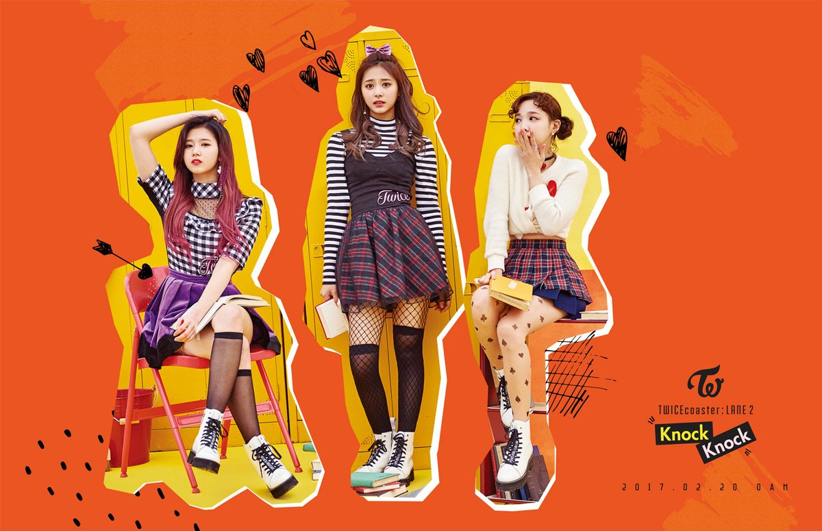 """Update: TWICE Releases New Teaser Image For """"Knock Knock"""" Featuring Sana, Tzuyu, And Nayeon"""