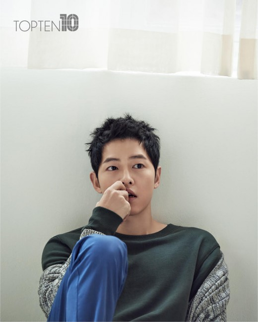 Song Joong Ki Keeps It Casual Chic In TOPTEN's Spring Campaign