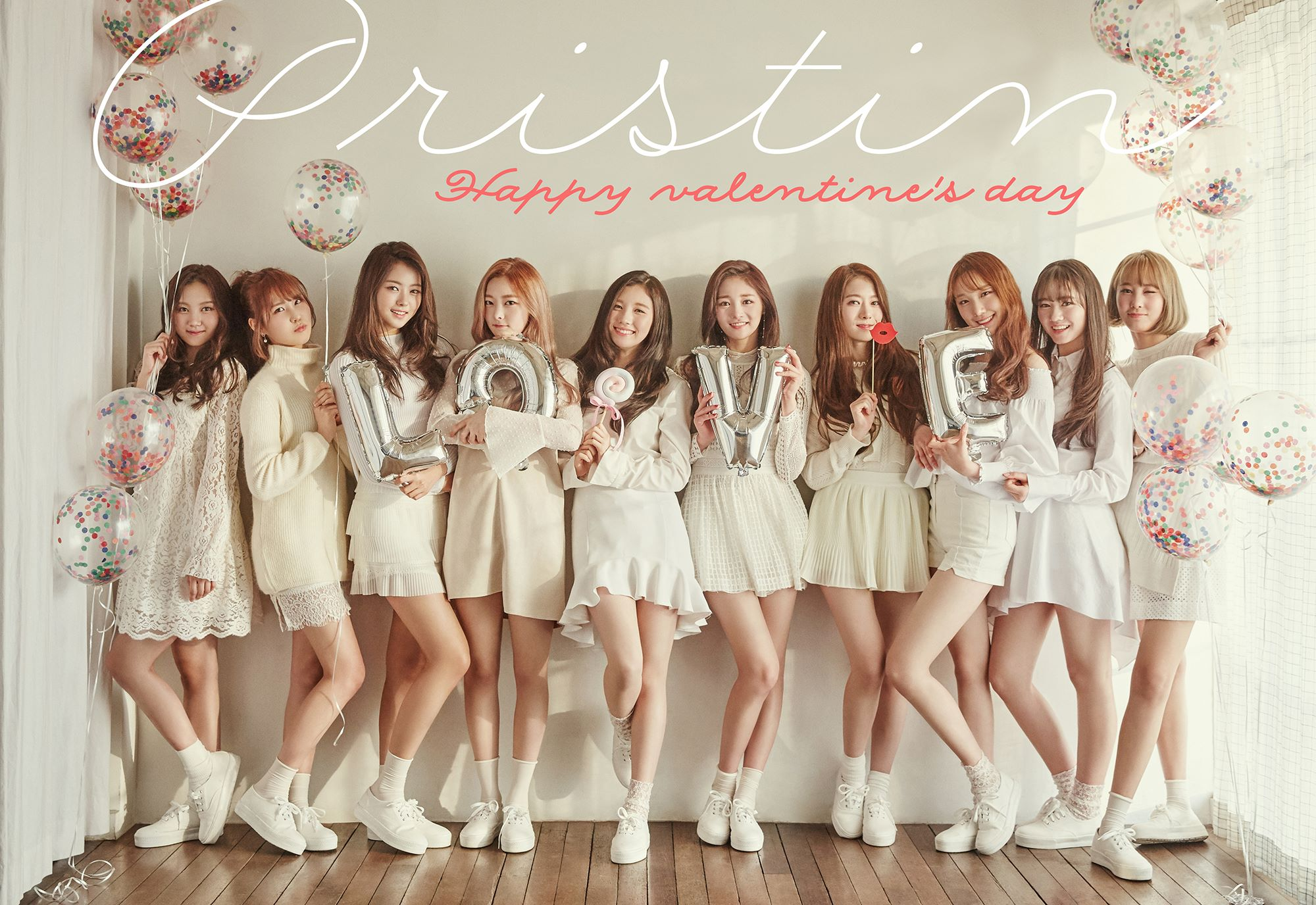 PRISTIN Wishes Fans A Happy Valentine's Day With Gorgeous New Photos
