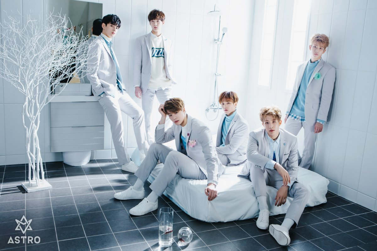 ASTRO Announces Official Colors For Fan Club | Soompi