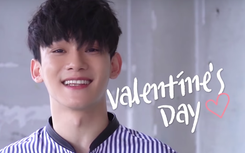 Watch: EXO's Chen Sings Short But Dreamy Cover Of Baekhyun And Suzy's Hit Song For Valentine's Day