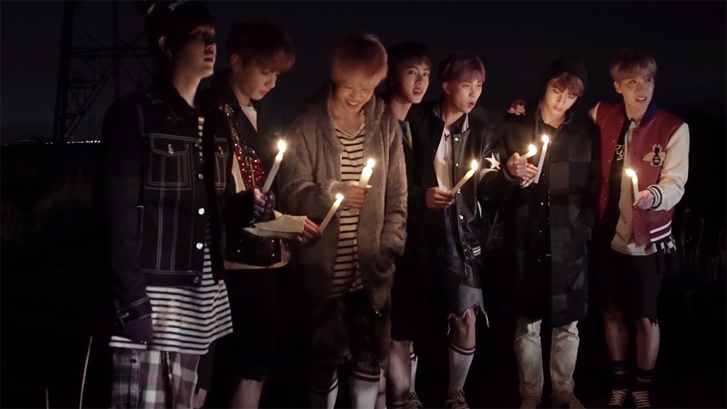 BTS Releases Charming Behind-The-Scenes Video For Album Jacket Shoot