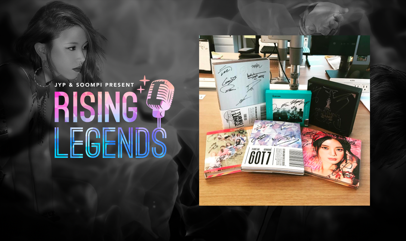 Vote For Soompi In The Shorty Awards To Win Signed Albums From JYP Artists!