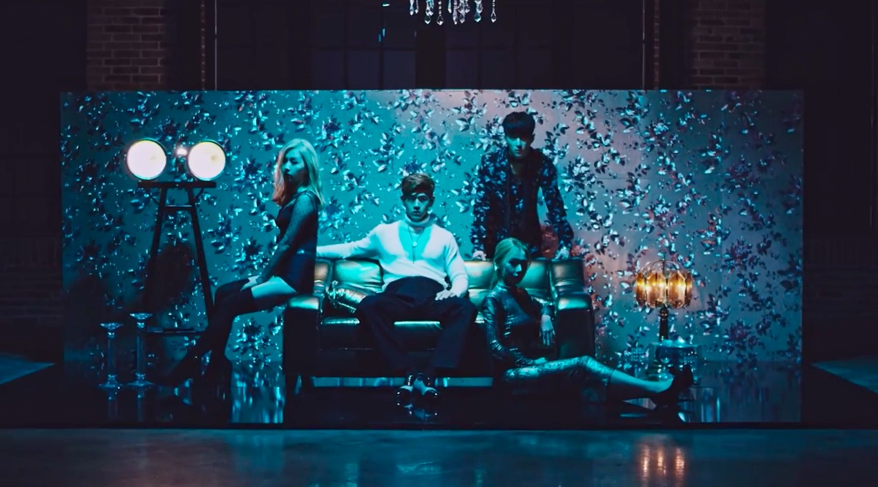 "Watch: Co-Ed Group K.A.R.D Drops Mesmerizing ""Don't Recall"" MV"