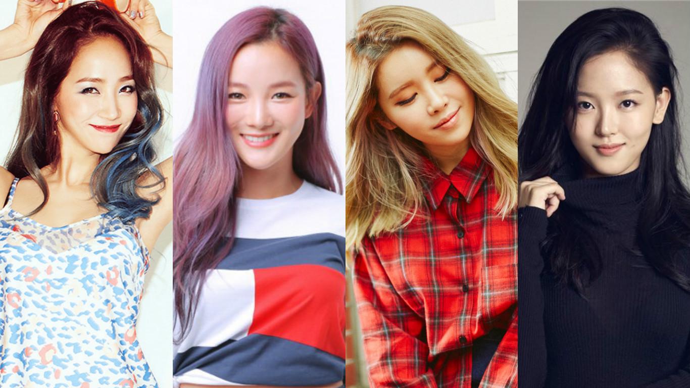 Wonder Girls Yeeun SPICA Bohyung Suran Kang Han Na