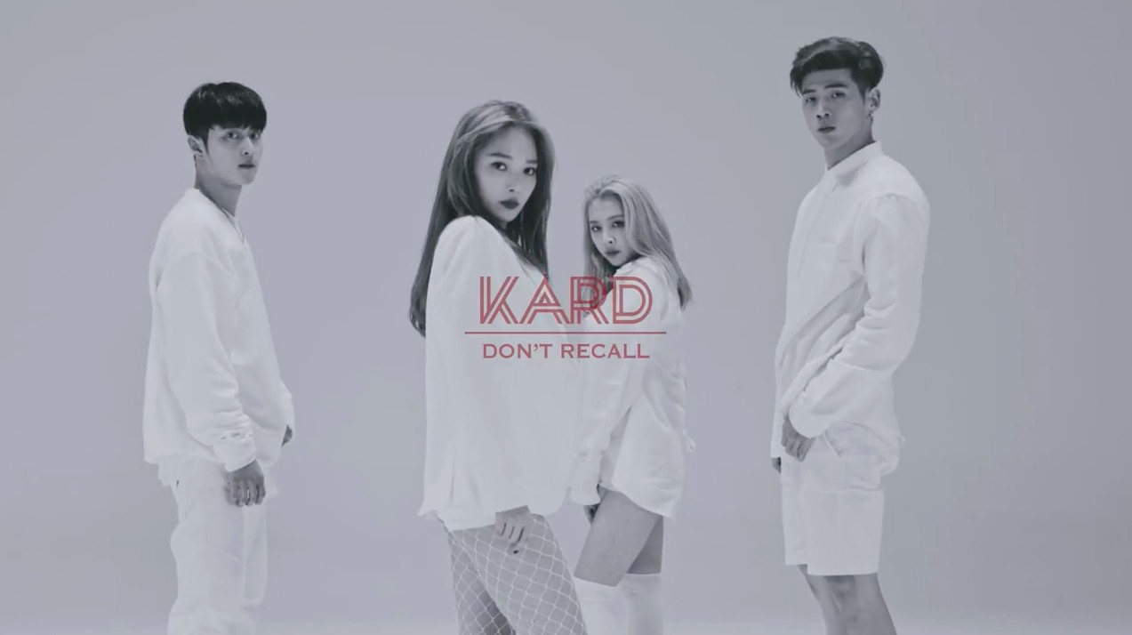 "K.A.R.D Trends Worldwide After Release Of ""Don't Recall"" MV"
