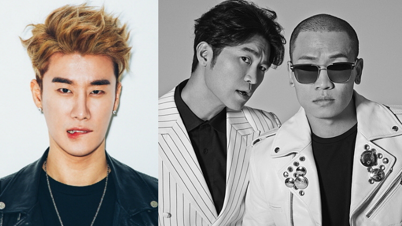 San E And Dynamic Duo Receive Awards From KOMCA For Their Contributions To Music Industry