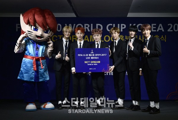 NCT Dream To Sing Official Song For 2017 FIFA U-20 World Cup In Korea