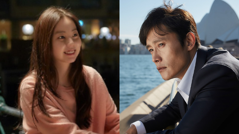 Ahn Sohee Teases Lee Byung Hun On His Bad Dad Jokes
