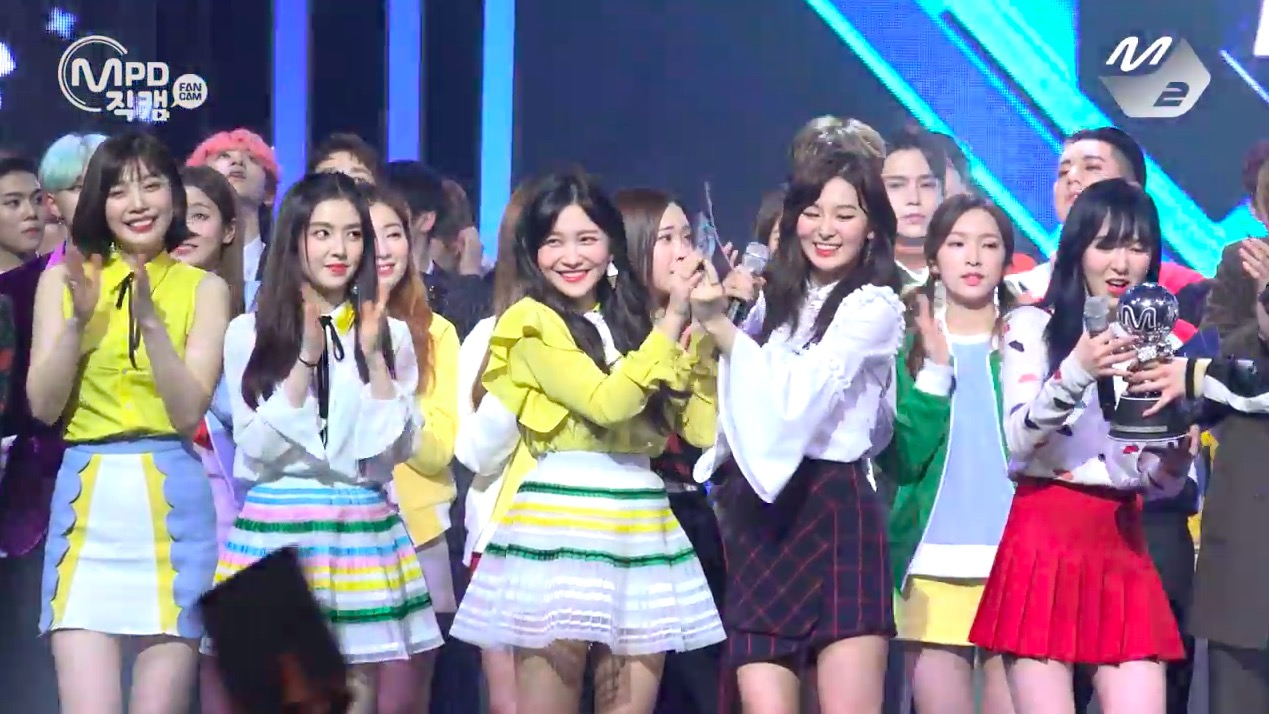 "Watch: Red Velvet Takes 7th Win For ""Rookie"" On ""M!Countdown,"" Performances By NCT Dream, SF9, And More"