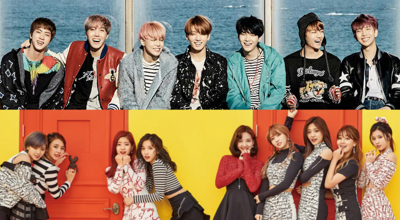 "BTS And TWICE To Stage First Comeback Performances On ""M!Countdown"""