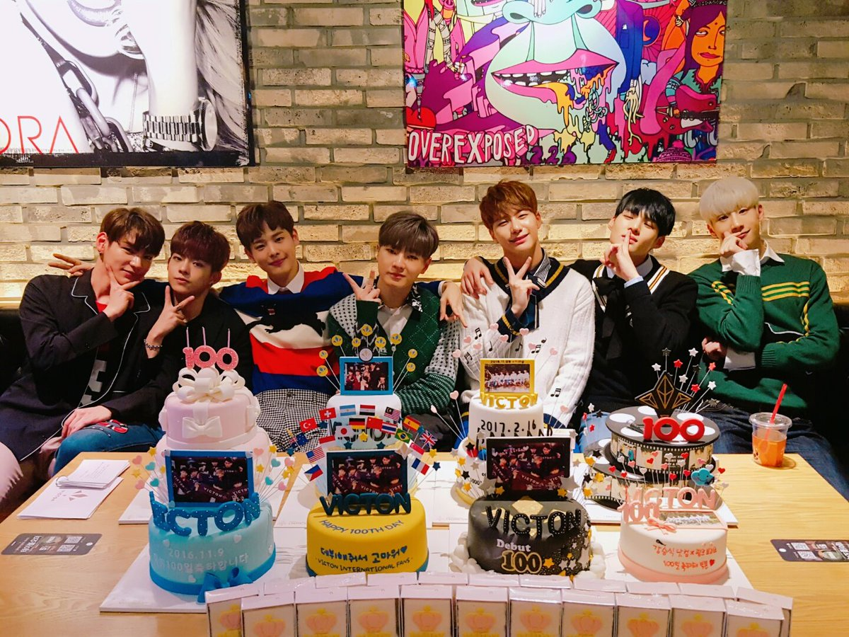 VICTON Announces Fan Club Name On 100th Day Since Debut