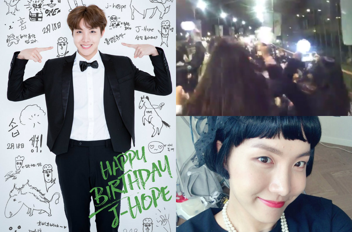 Fans And BTS Members Celebrate J-Hope's Birthday With Lots Of Love