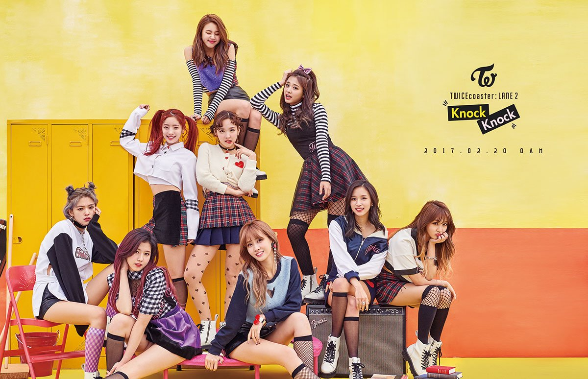 "Update: TWICE Releases New Group Teaser Image For ""Knock Knock"""