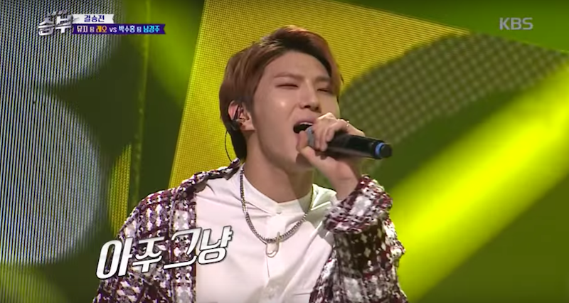 "VIXX's Leo Shows Off Unexpected Trot And Rap Skills On ""Singing Battle"""