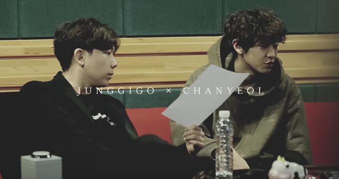 Картинки по запросу Chanyeol and JungGiGo