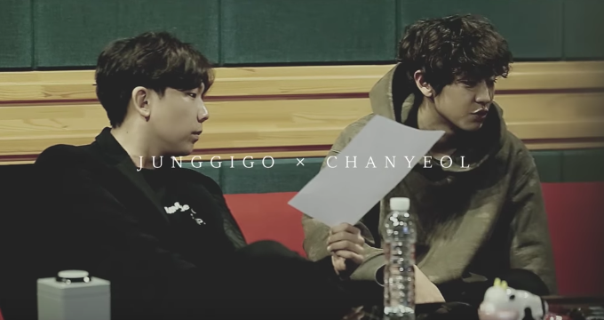 "Watch: EXO's Chanyeol And Junggigo Chill Out At The Studio In Teaser For ""Let Me Love You"""