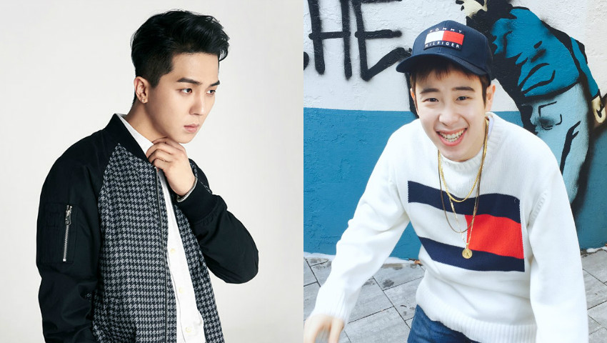 WINNER's Song Mino Congratulates Block B's P.O On Variety Show MC Debut With Food Support