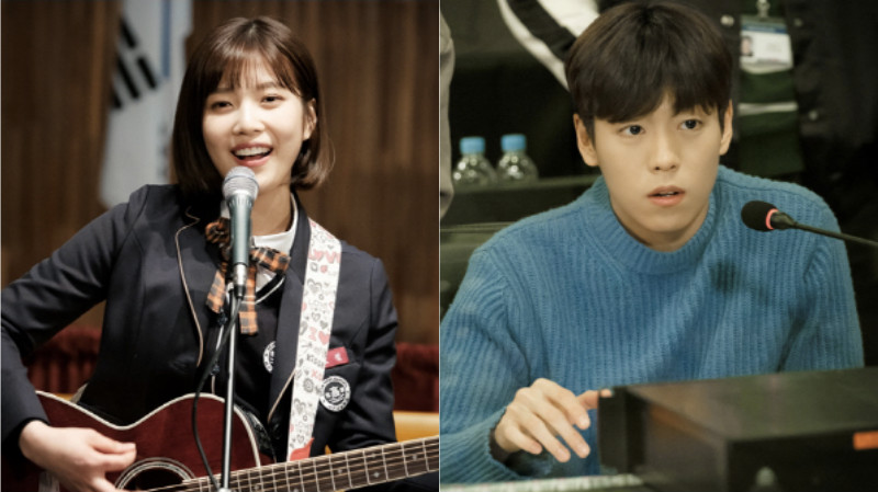 """The Liar And His Lover"" Releases Stills Of Red Velvet's Joy And Lee Hyun Woo As Musicians"