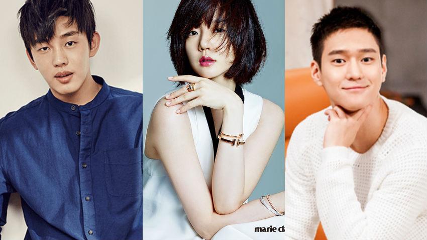 Yoo Ah In Im Soo Jung Go Kyung Pyo