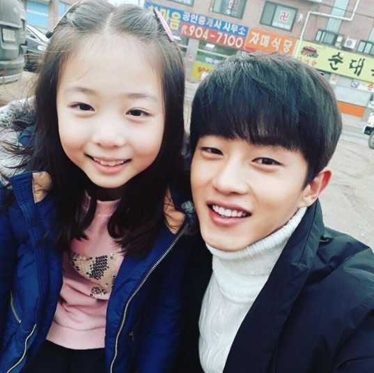 Kim Min Suk Shows Love For His Adorable Co-Star